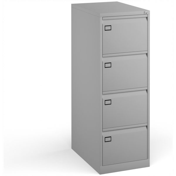 Four Drawer Steel Deluxe