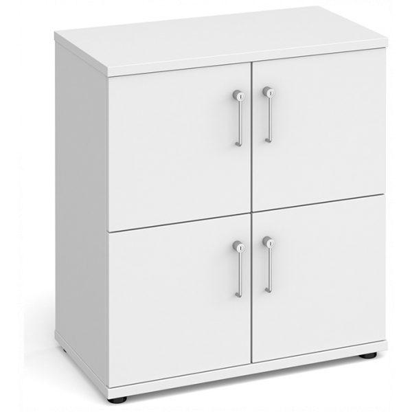 Four Door Personal Storage Lockers