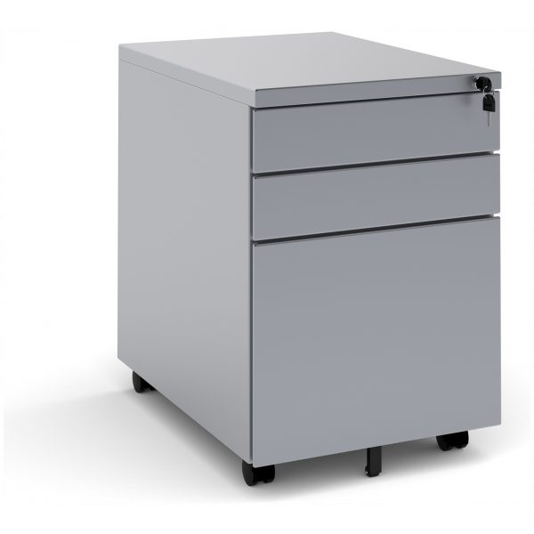 Steel 3 Drawer Pedestal
